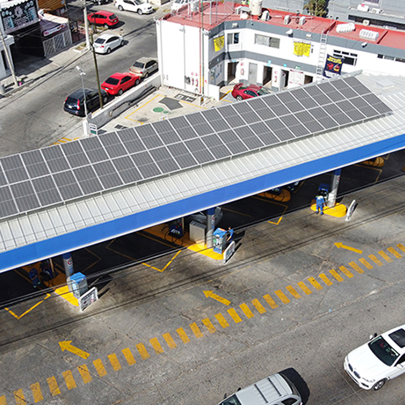 Gasolinera Petroblue