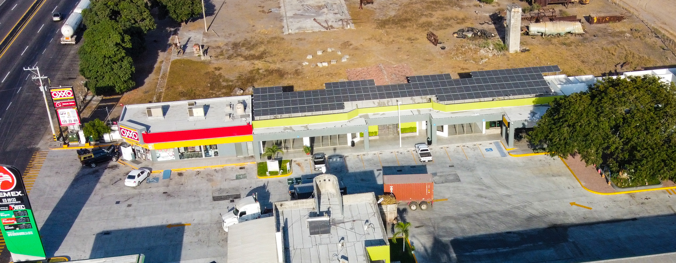 Gasolinera Súper Servicios Moreno Tecomán